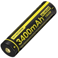 Аккумулятор литиевый Li-Ion Nitecore NL1834R (3400mAh, USB), защищенный