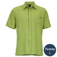 Рубашка мужская MARMOT Eldridge SS (р.L), green lichen 62220.4425-L