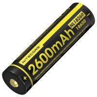 Аккумулятор литиевый Li-Ion Nitecore NL1826R (2600mAh, USB), защищенный