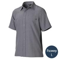 Рубашка мужская MARMOT Eldridge SS (р.L), cinder 62220.1415-L