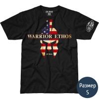 Футболка 7.62 USAF Warrior Ethos (р.S), черная