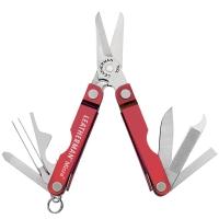 Многофункциональный инструмент, мультитул Leatherman Micra, красный 64330181N