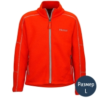 Кофта детская MARMOT Boy's Lassen Fleece (р.L), mars orange 83400.9180-L