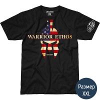 Футболка 7.62 USAF Warrior Ethos (р.XXL), черная