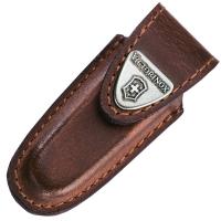 Чехол для ножей Victorinox (58мм) кожаный, на липучке, коричневый 4.0531