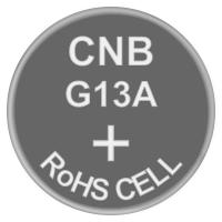 Батарейка часовая щелочная, Alkaline AG13 (А76, LR44, 357, SR1154) Soshine 1.5V