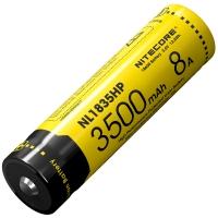 Аккумулятор литиевый Li-Ion 18650 Nitecore NL1835HP 3.6V (3500mAh), защищенный
