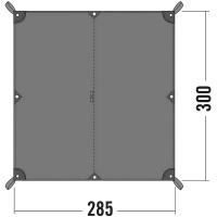Тент Tatonka Tarp (2,85х3,00м), серый 2479.001