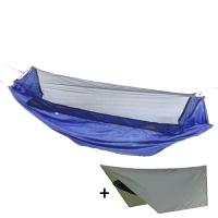 Гамак с сеткой антимоскитной + тент Levitate Mosquito , синий