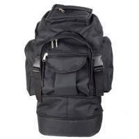 Рюкзак трансформер туристический (60л), черный