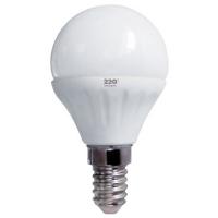 Лампа светодиодная 220ТМ G45 (5W, 220V, 3000К, E14)