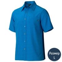 Рубашка мужская MARMOT Eldridge SS (р.L), azure blue 62220.2056-L