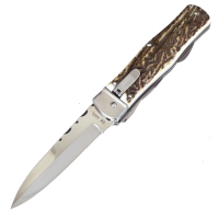 Нож выкидной, мультитул (длина: 21.5cm, лезвие: 9.5cm)