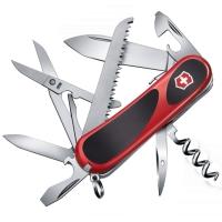 Нож складной, мультитул Victorinox Evogrip S17 (85мм, 15 функций), красный 2.3913.SC