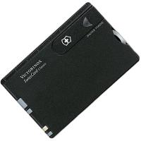 Набор Victorinox Swisscard (82х54х4мм, 10 функций), черный 0.7133