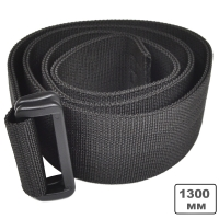 Ремень брючный Hasta B50 M (1300мм), черный