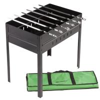 Мангал для шашлыков с решеткой КЕМПИНГ BA-2101 (50x30.5x50см)