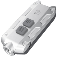 Фонарь Nitecore TIP Luxury Edition (Cree XP-G2, 360 люмен, 4 режима, USB), серебряный/серый