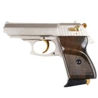 Пистолет сигнальный Ekol Lady (9.0мм), сатин с позолотой