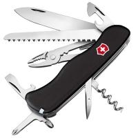 Нож складной, мультитул Victorinox Atlas (111мм, 16 функций), черный 0.9033.3