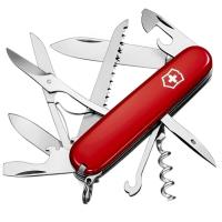 Нож складной, мультитул Victorinox Huntsman (91мм,18 функций), красный 1.3715