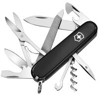 Нож складной, мультитул Victorinox Mountaineer (91мм,18 функций), черный 1.3743.3