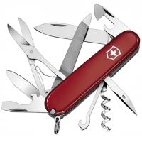 Нож складной, мультитул Victorinox Mountaineer (91мм,18 функций), красный 1.3743