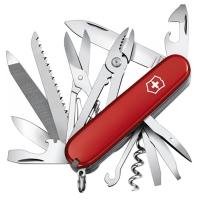 Нож складной, мультитул Victorinox Handyman (91мм,24 функции), красный 1.3773