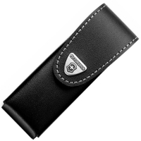 Чехол для ножей Victorinox (111мм, до 4х слоев), кожаный, на липучке, с повор. клипом 4.0523.31