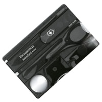 Set Victorinox SWISSCARD LITE flashlight (82х54х4mm 12 functions), black 0.7333.T3
