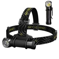 Headlamp Flashlight Nitecore HC30 (Cree XM-L2 U2 , 1000 lumens, 8 modes, 1x18650)