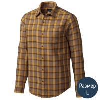 Рубашка мужская MARMOT Fairfax Flannel LS (p.L), коричневая клетка