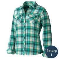 Рубашка женская MARMOT Wm's Bridget Flanne (р.L), зеленая