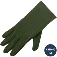 Перчатки шерстяные Lasting Rok, зеленые (р.S/M)