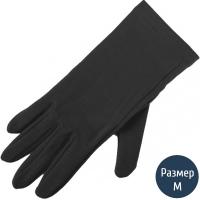 Перчатки шерстяные Lasting Ruk, черные (р.S/M)