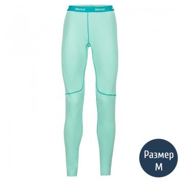 Термоштаны женские MARMOT Wm's ThermalClime Sport Tight (100 г/м2, M), green frost 12760.4331-M