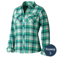 Рубашка женская MARMOT Wm's Bridget Flanne (р.S), зеленая