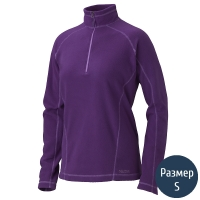 Кофта женская MARMOT Wm's Rocklin 1/2 Zip (р.S), lavender violet 88990.6239-S