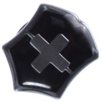 """Значок Victorinox """"Swiss emblem"""", черный 4.1888.3"""