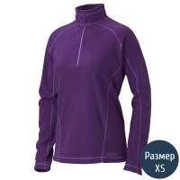 Кофта женская MARMOT Wm's Rocklin 1/2 Zip (р.XS), lavender violet 88990.6239-XS