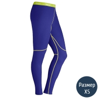Термоштаны женские MARMOT Wm's ThermalClime Sport Tight (100 г/м2, XS), electric blue 12760.2692-XS