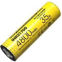 Аккумулятор литиевый Li-Ion INR 21700 Nitecore 3.6V (35А, 4800mAh)