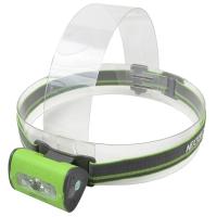 Lantern headlamp Nextorch Trek Star (Cree + 2xRED LED, 220 lumens, 4 modes, 3xAAA), green