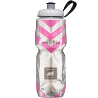 Термобутылка Polar Bottle Chevron (720мл), pink