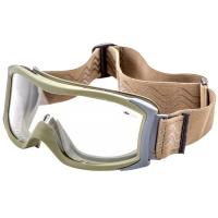 Очки тактические Bolle X1000 с прозрачными линзами, песочные
