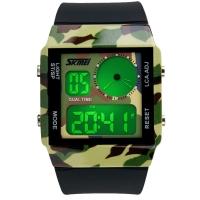 Часы Skmei Мод.0841, камуфляжные, в металлическом боксе