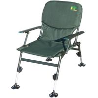 Кресло карповое складное Ranger Fish Profi (69x47x30см), зелёное