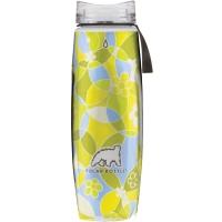 Термобутылка Polar Bottle Ergo Graphic (650мл), circles&flowers