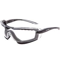 Очки защитные Bolle Cobra с прозрачной линзой и ремешком