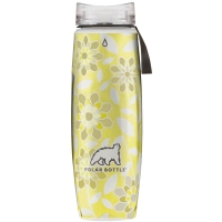 Термобутылка Polar Bottle Ergo Graphic (650мл), leaves